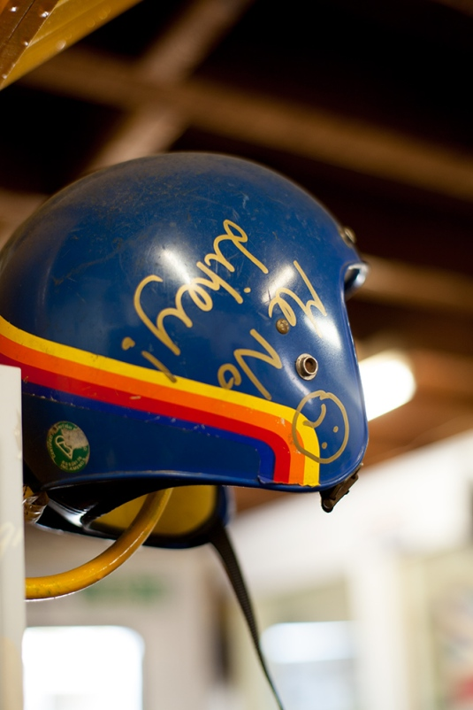 Vintage helmet, Old Empire Motorcycles