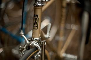 Steel frame road bike, Berlin