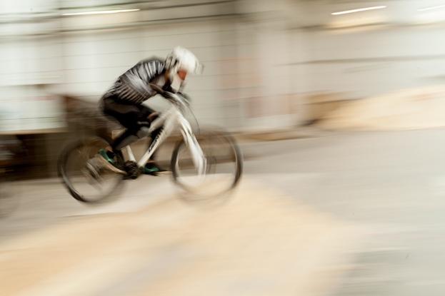 Cyclocross racer, Berlin