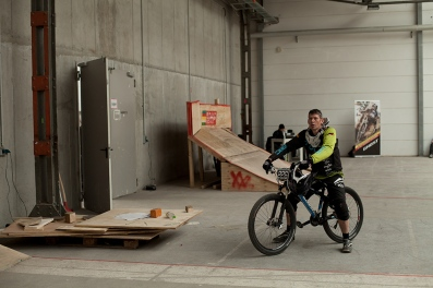 Cyclocross rider, Berlin