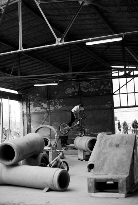 Stunt practice area, Berlin