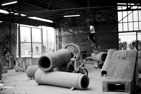 Stunt bike practice area, Berlin